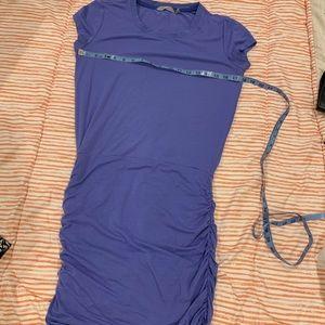 Athleta purple dress cover up tunic